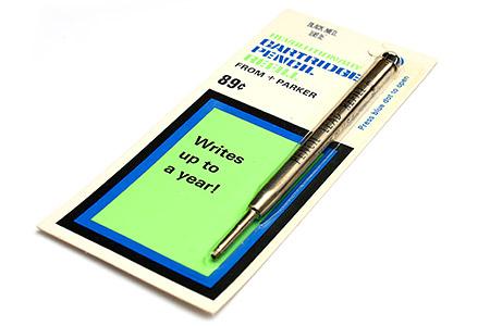 parker pencil refill instructions